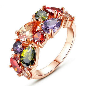 Colorful Cubic Ring - Trendiscovery