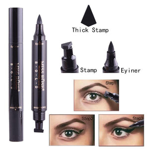 2in1 Eyeliner with Stamp - Trendiscovery