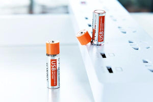 AA Rechargeable USB Battery (4 Pieces) - Trendiscovery