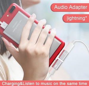 2 IN 1 Audio/Charger Adapter - Trendiscovery