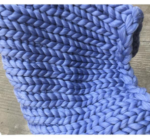 Chunky Knit Blanket - Trendiscovery