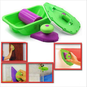 Decorative Paint Roller and Tray Set - Trendiscovery