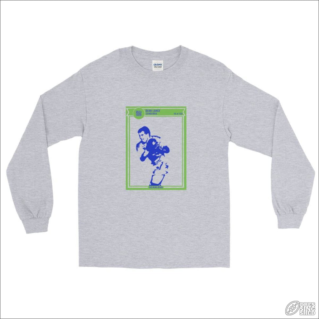Rugby League Long sleeve T-shirt Canberra Footy Card S Longsleeve