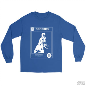 Rugby League Long sleeve T-shirt Canterbury Footy Card Gildan Long Sleeve Tee / Royal / S Longsleeve