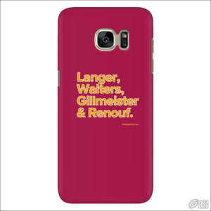 Rugby League Phone Case Brisbane Legends Galaxy S7 Phone Cases