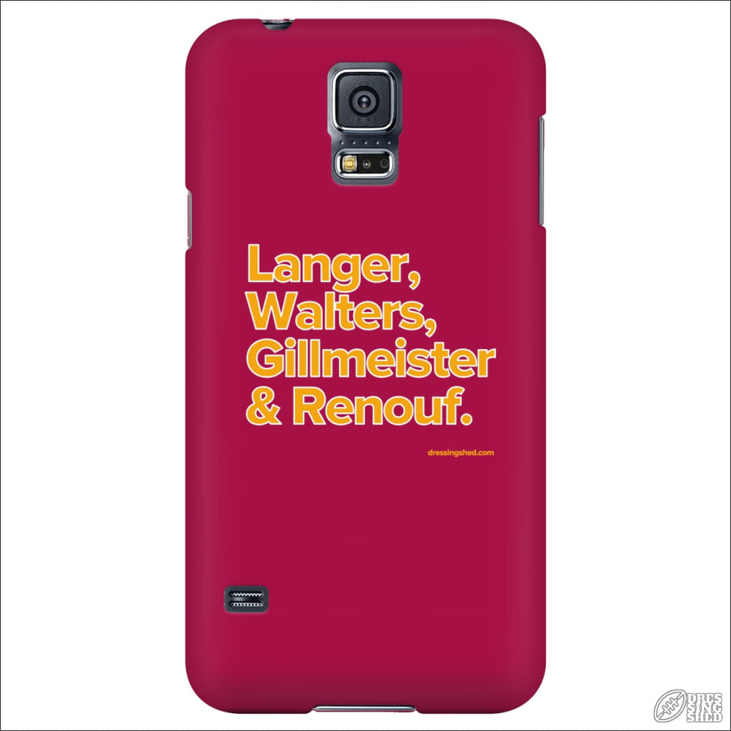 Rugby League Phone Case Brisbane Legends Galaxy S5 Phone Cases