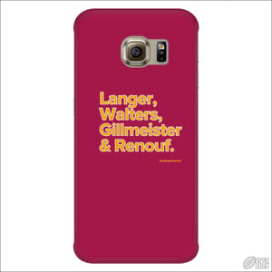 Rugby League Phone Case Brisbane Legends Galaxy S6 Edge Phone Cases