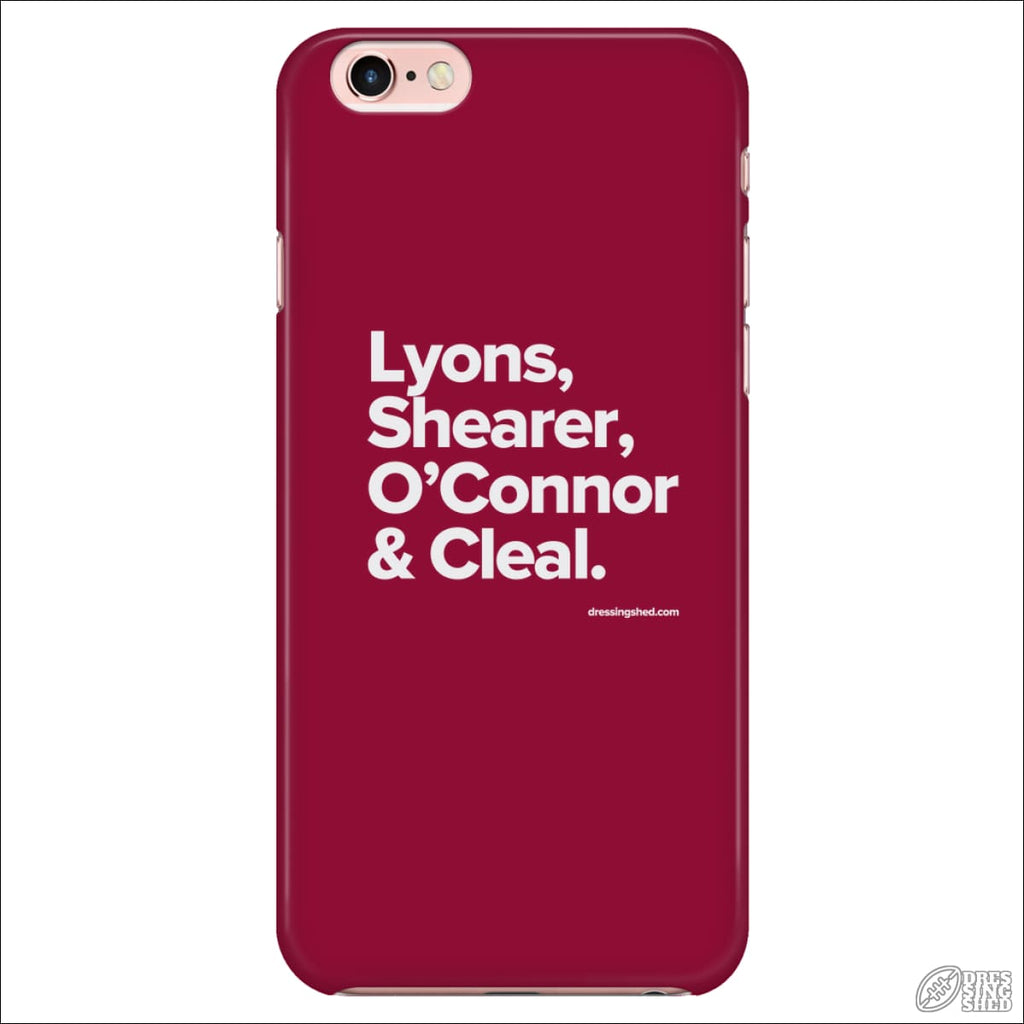 Rugby League Phone Case Manly Legends iPhone 7/7s/8 Phone Cases