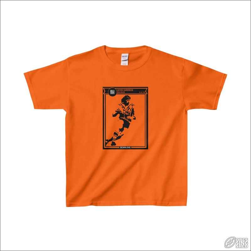 Rugby League T-shirt 6-12 Balmain Footy Card S Orange / XS Kids clothes