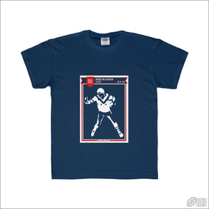 Rugby League T-shirt 6-12 Easts Footy Card Navy / XS Kids clothes
