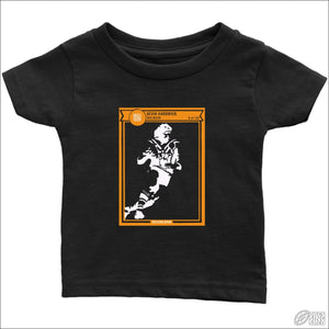 Rugby League T-shirt Infant Balmain Footy Card Infant T-Shirt / Black / 6M Kids clothes
