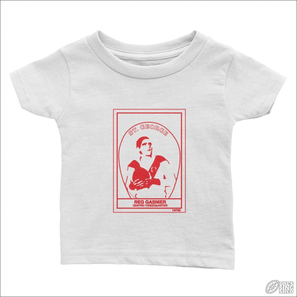 Rugby League T-shirt Infant St George Footy Card 6M Kids clothes