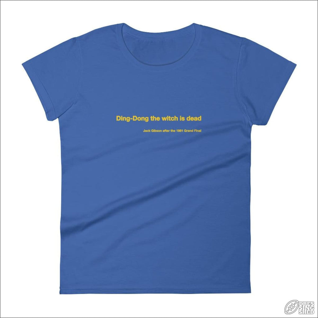 Rugby League T-shirt Ladies Parramatta Quote S T-shirt - Womens