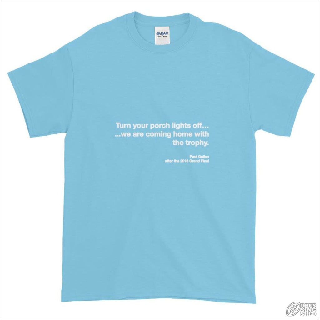 Rugby League T-shirt Mens Cronulla Quote S T-shirt - Mens