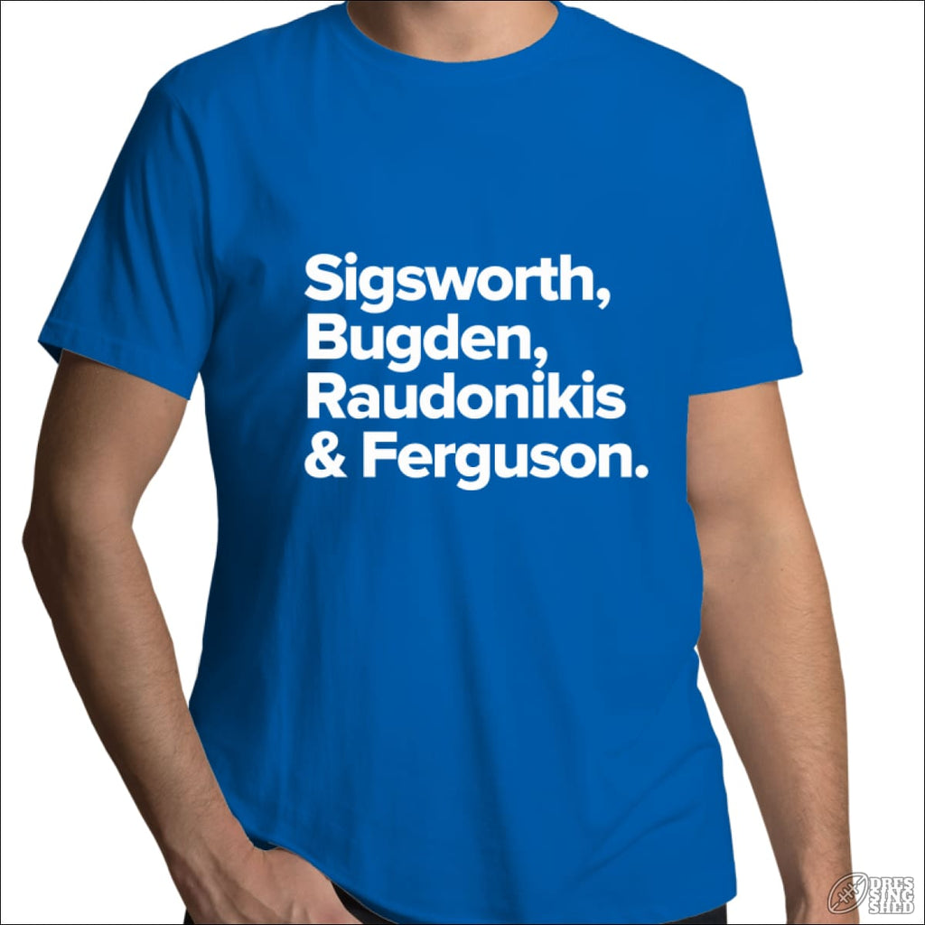 Rugby League T-shirt Mens Newtown Legends Bright Royal / Small T-shirt - Mens
