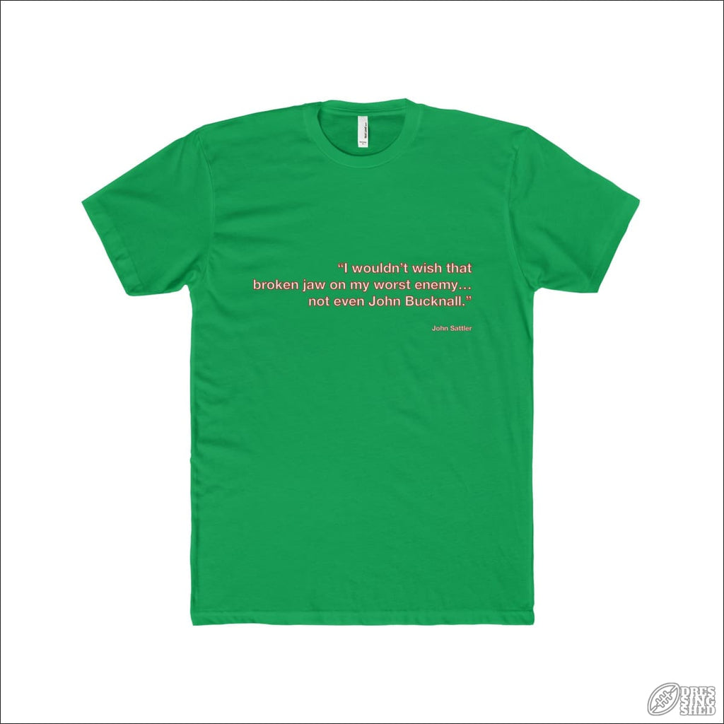 Rugby League T-shirt Mens Souths Quote Solid Kelly Green / XS T-shirt - Mens
