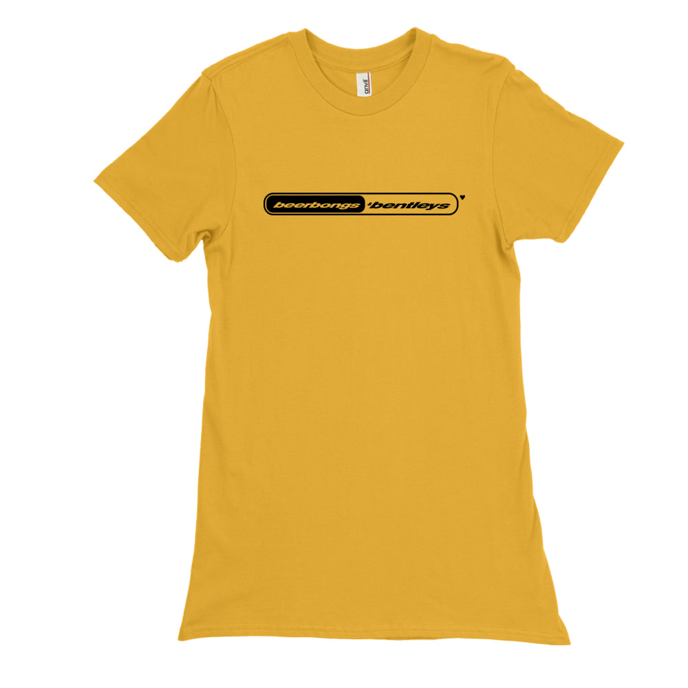 Post Malone Beerbongs and Bentleys Yellow Gold T-Shirt  Post Malone Merch   Post Malone Shirt  S-3XL  -