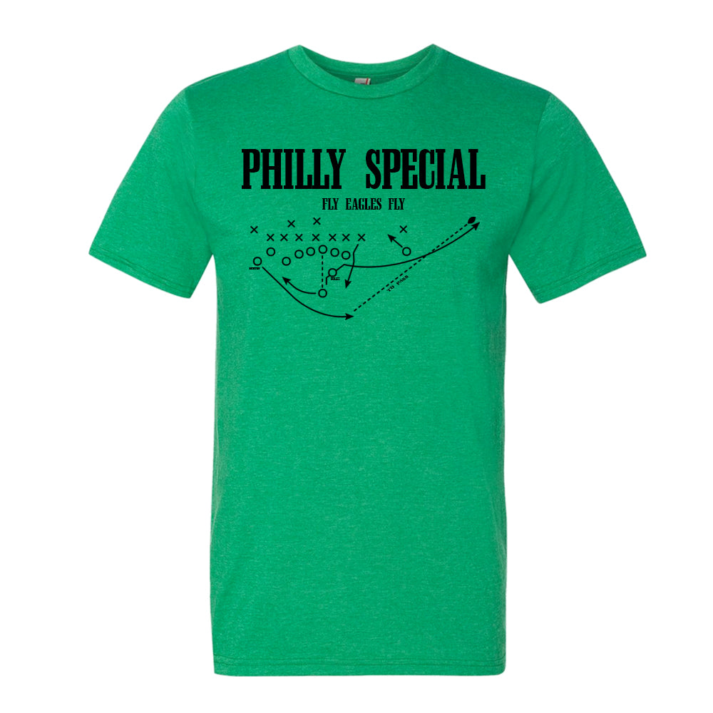 reputable site 7a8ca 53db4 Philly Special T-Shirt. Philly Special Trick Play T-Shirt. Nick Foles  Philly Eagles Shirt. Philadelphia Eagles Nick Foles Touchdown Play. -