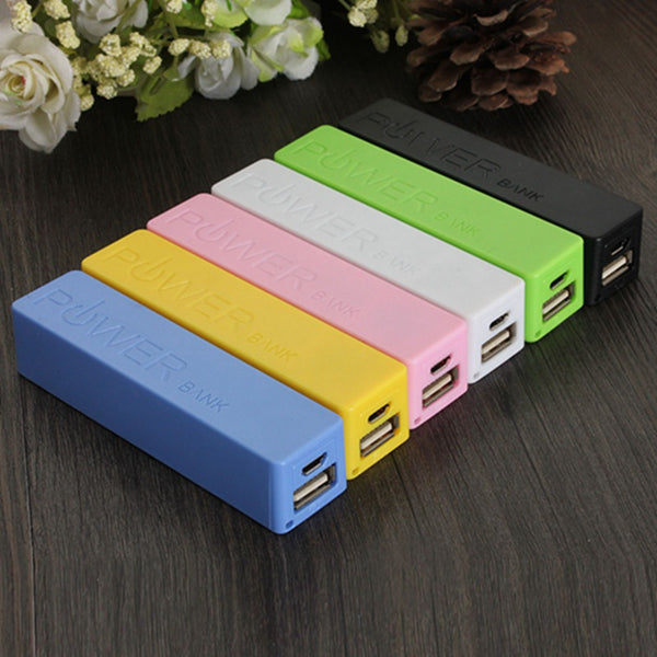 Hot Sale Fashion Colors Portable 18650 Battery Charger Case Box