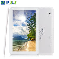 "iRULU eXpro X1Plus 10.1"" Tablet PC GMS tested Quad Core Android 5.1 Tablet 1G RAM 8GB ROM Dual Cam 2.0MP WIFI  bluetooth"