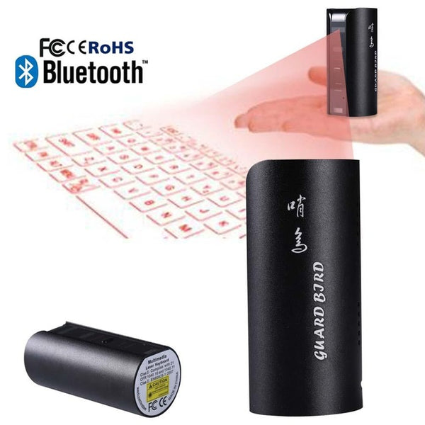 2016 new Mini Portable Virtual Laser keyboard for Ipad Iphone Tablet PC Bluetooth Projection Projected Keyboard Wireless Mini