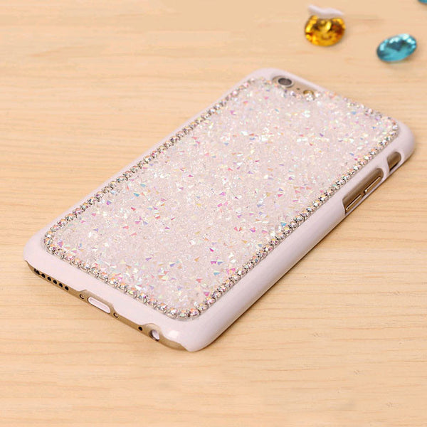 TIKITAKA New Style Luxury Crystal Rhinestone Cover Case For Iphone Fashional Bling Diamond Phone Case For Iphone 6 plus PT4070
