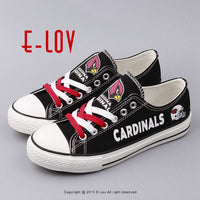 2017 New NFL Fans Shoes Hip Hop Outdoor Casual Shoes For Men Boys Gift Fans Customize Low Top Graffiti Shoes
