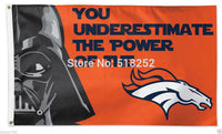 Denver Broncos Star Wars Flag  3x5 FT 150X90CM NFL Banner