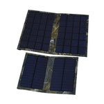 6W Solar Power Bank Portable Foldable Powerbank Cell USB Solar Panel Charger pack