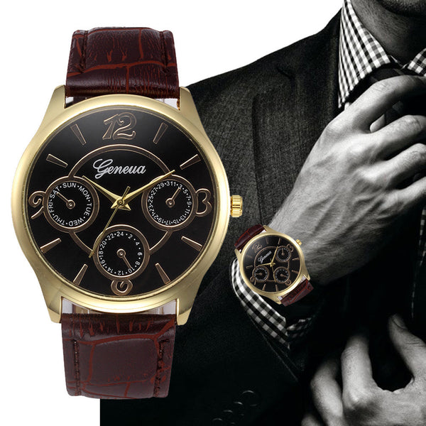 2017 Top Luxury Brand Men's Quartz Stainless Steel Business Watches Date Clock Men Wrist Watches Men relogio masculino esportivo