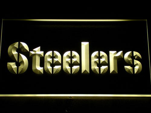 145 Pittsburgh Steelers Bar LED Neon Sign with On/Off Switch 7 Colors 4 Sizes to choose