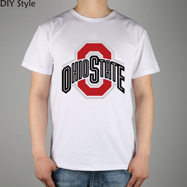 NEW OHIO STATE UNIVERSITY t-shirts short sleeves high quality Fashion Brand t shirt men