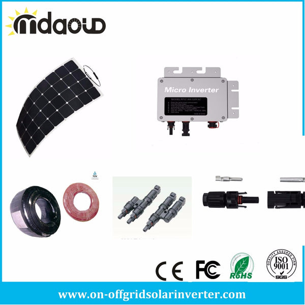 FREE SHIPPING ON GRID/ Grid Tie Solar Kit 600W SOLAR INVERTER 220V/110V 22-50V DC