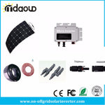 FREE SHIPPING ON GRID/ Grid Tie Solar Kit 1200W SOLAR INVERTER 220V/110V 22-50V DC