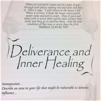 Deliverance and Inner Healing - 201 School Lesson 18 (mp3) - Elijah House