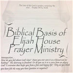 Biblical Basis of Elijah House Ministry - 201 School Lesson 1 (mp3)