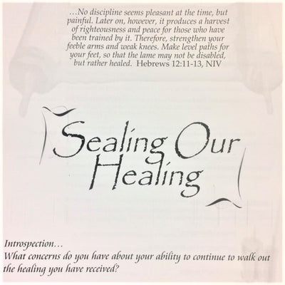 Sealing Our Healing - 201 School Lesson 24 (mp3) - Elijah House