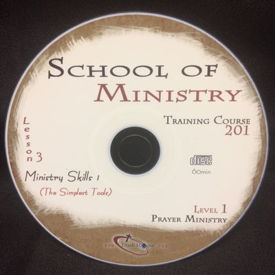 Ministry Tools 1: The Simplest Tools - 201 School Lesson 3 (CD) - Elijah House