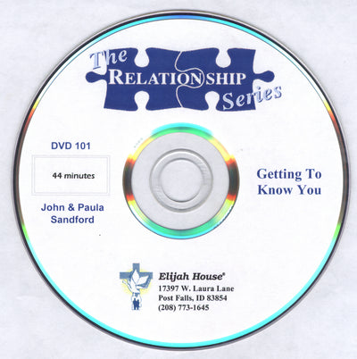 The Relationship Series: DVD 1 - Getting to Know You
