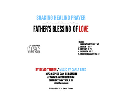 Father's Blessing of Love, Soaking Prayer CD - Elijah House