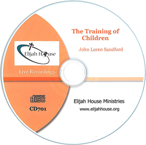 The Training of Children CD - Elijah House