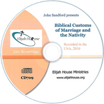 Biblical Customs of Marriage and the Nativity CD