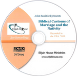 Biblical Customs of Marriage and the Nativity DVD