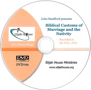 Biblical Customs of Marriage and the Nativity DVD - Elijah House