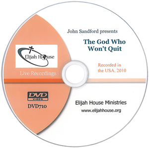 The God Who Won't Quit DVD