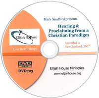Hearing and Proclaiming from a Christian Paradigm DVD