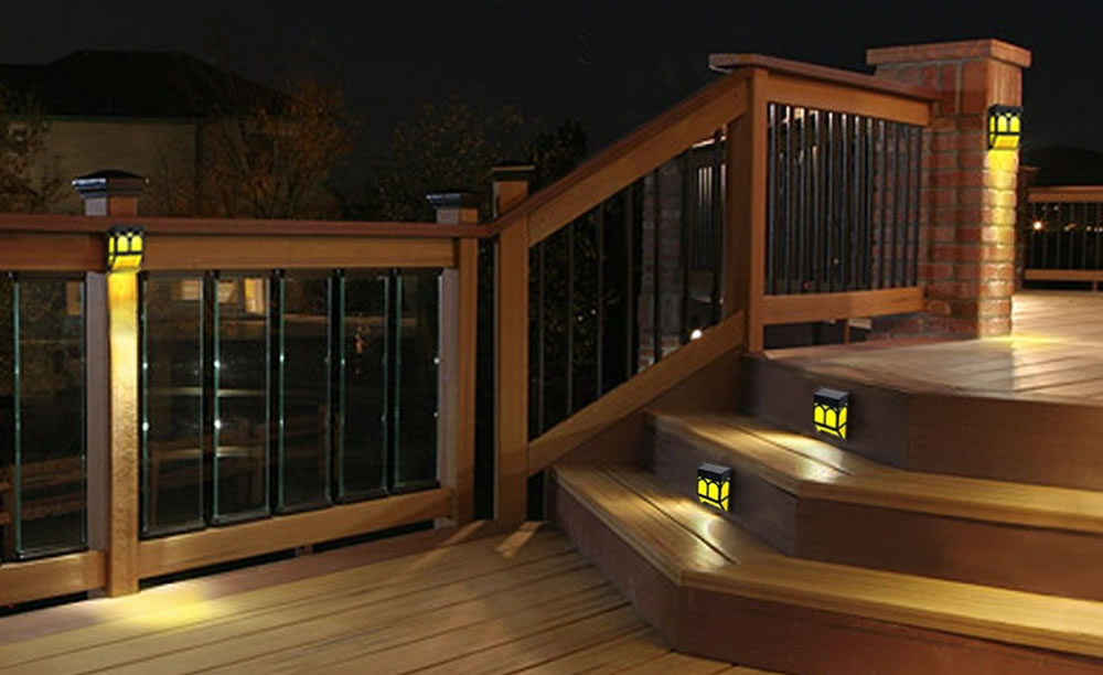 Spice Up your Patio, Deck, Fences and More with Color-Changing Solar Lights
