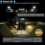 Xenon White LED Interior Light Package For Honda Civic 2013 - 2016 Sedan Coupe