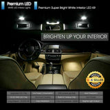 White LED Interior Light Package for BMW 3 Series E90 E92 328i M3 335i 2006-2012