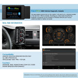 OBD2 OBDII Bluetooth Car Scanner by AquaNine - Diagnostic Reader Adapter Scan Tool
